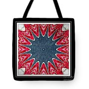 Stained Glass Lace - Kaleidoscope Tote Bag
