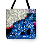 Stained Glass Leopard 1 Tote Bag