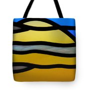 Stained Glass Scenery 3 Tote Bag