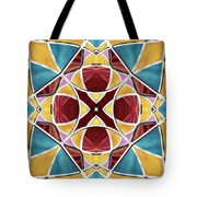 Stained Glass Window 5 Tote Bag