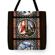Stained Glass Window Iv Tote Bag