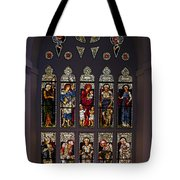 Stained Glass Window The Huntington Library Tote Bag