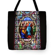 Stained Glass Window Viii Tote Bag