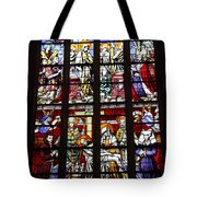 Stained Glass Window Xi Tote Bag