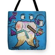 Stained Tooth Tote Bag