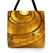 Stair Way To Justice Tote Bag