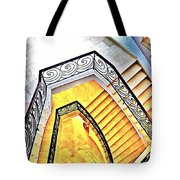 Staircase Abstract Tote Bag