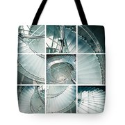 Staircase Jigsaw Tote Bag