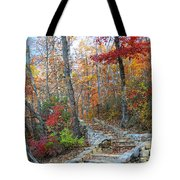Staircase To Fall Tote Bag
