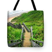 Staircase To Gem Tote Bag by Lourry Legarde