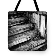 Stairing Taken Over By Time Tote Bag