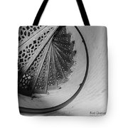 Stairs At The Fort Gratiot Light House Tote Bag