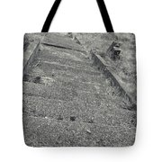 Stairs In The Cemetary Tote Bag