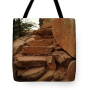 Stairs In The Desert Tote Bag