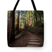 Stairs Into The Woods Tote Bag