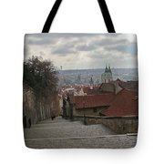 Stairs To Prague Tote Bag