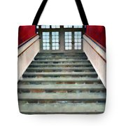 Stairs To The Barn Tote Bag