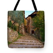 Stairs To The Village Tote Bag