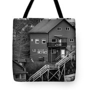 Stairs Up To Home Tote Bag