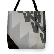 Stairs With Shadow Tote Bag