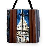Stairway Dome Reflection Tote Bag