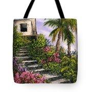 Stairway Garden Tote Bag