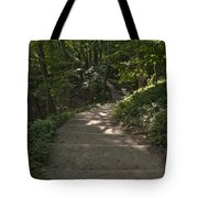 Stairway In Nature Tote Bag