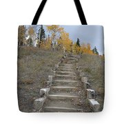 Stairway To Autumn Tote Bag