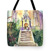 Stairway To Heaven In Llansa Tote Bag
