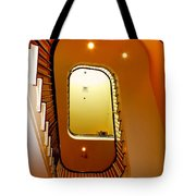 Stairway To Heaven Tote Bag by Karen Wiles