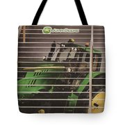 Stairway To John Deere Heaven Tote Bag by Janice Rae Pariza
