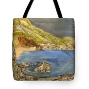 Stairway To The Beach Tote Bag