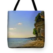 Stairway To The Sea Tote Bag