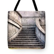 Stairway To The Unknown Tote Bag by Sandra Bronstein