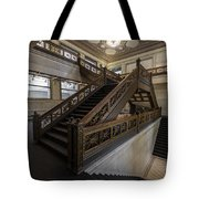 Stairwell Chicago Cultural Center Tote Bag