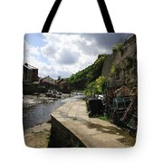 Staithes Harbour Tote Bag