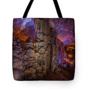 Stalactite Cave Wall Tote Bag