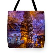 Stalactite Column Tote Bag