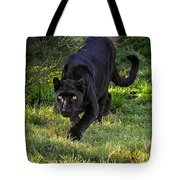Stalking Leopard Tote Bag