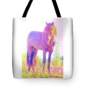 The Stallion Came To Me In A Dream Tote Bag