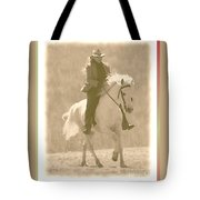 Stallion Strides Tote Bag