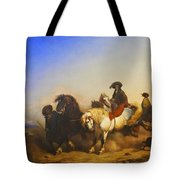 Stallions From The Governments Stud Farm Tote Bag
