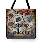 Stamp Colleting Tote Bag