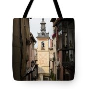 Stamped Bell Tower Tote Bag