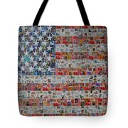 Stamps And Stripes Renegade Colony Tote Bag