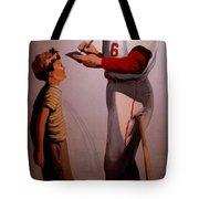 Stan Musial Mural Tote Bag
