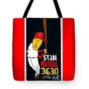 Stan Musial St Louis Cardinals Tote Bag