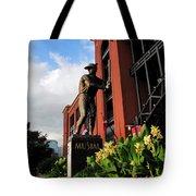 Stan Musial Statue Tote Bag