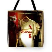 Stan The Man's Locker Stan Musial Tote Bag