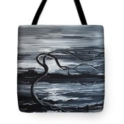 Stand Against The Wind Tote Bag